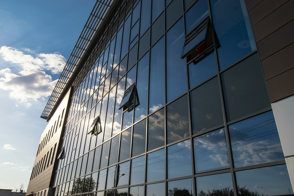 Office building's facade