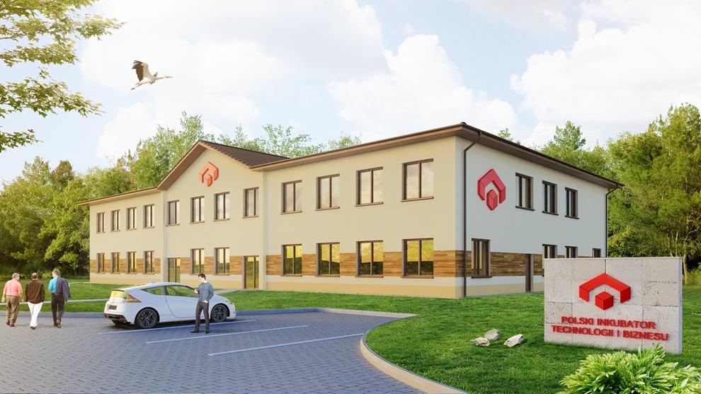 Biurowiec Polski Inkubator Technologii i Biznesu
