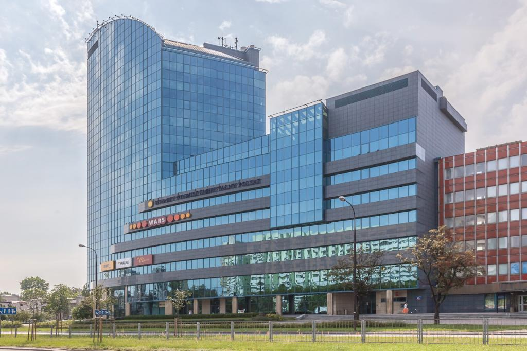 Building designed for renting offices