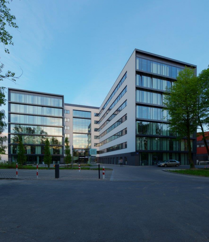 View of the office building