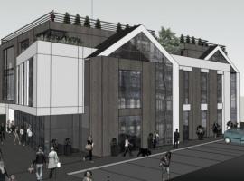 Budynek Usługowo-Handlowy Jabłoniowa