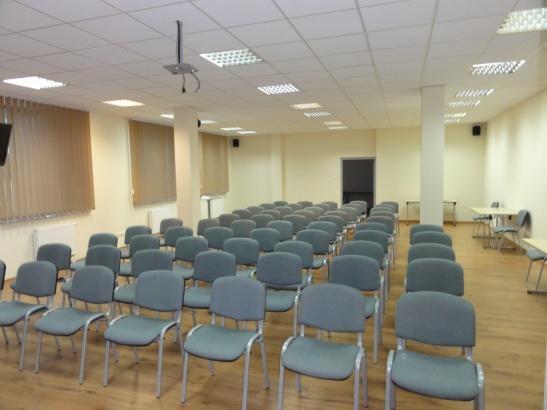 Budynek biurowy, sala konferencyjna