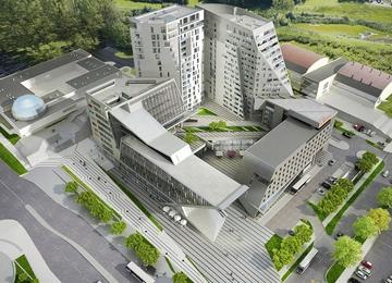 Olsztyński Centaurus w budowie