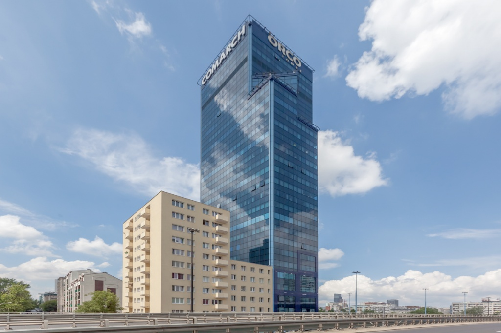 Office building's facade - office renting