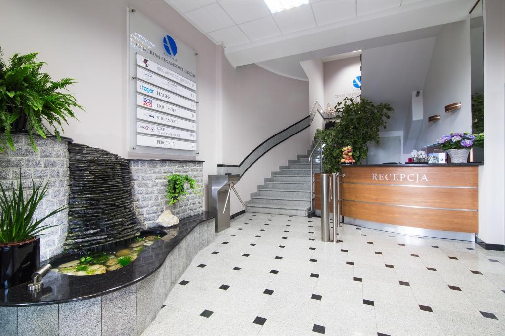Centrum Finansowe Okęcie - recepcja