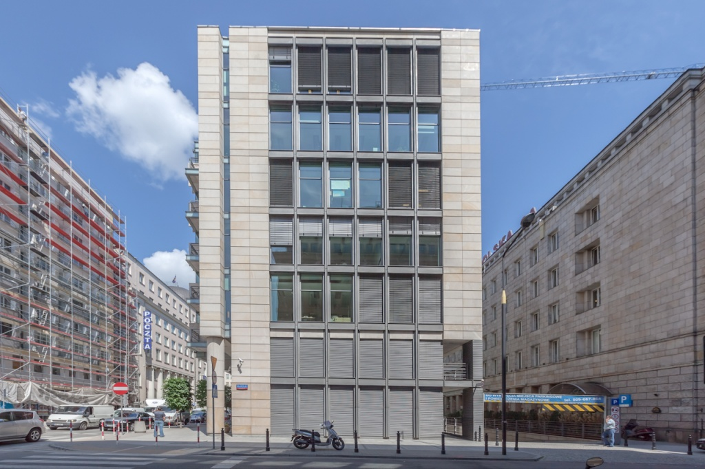 Budynek przeznaczony pod wynajem biur