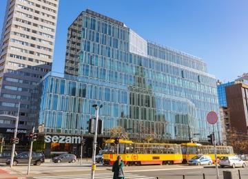 Nowy projekt biurowy w miejscu Domu Handlowego Sezam