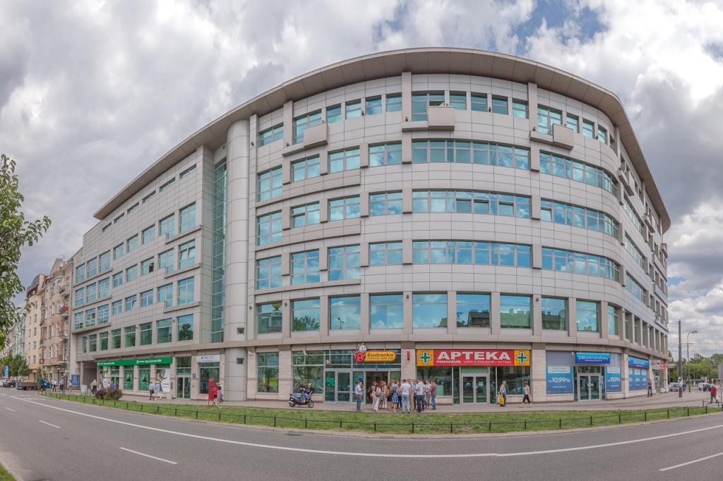 Offices designed for rent - outside view