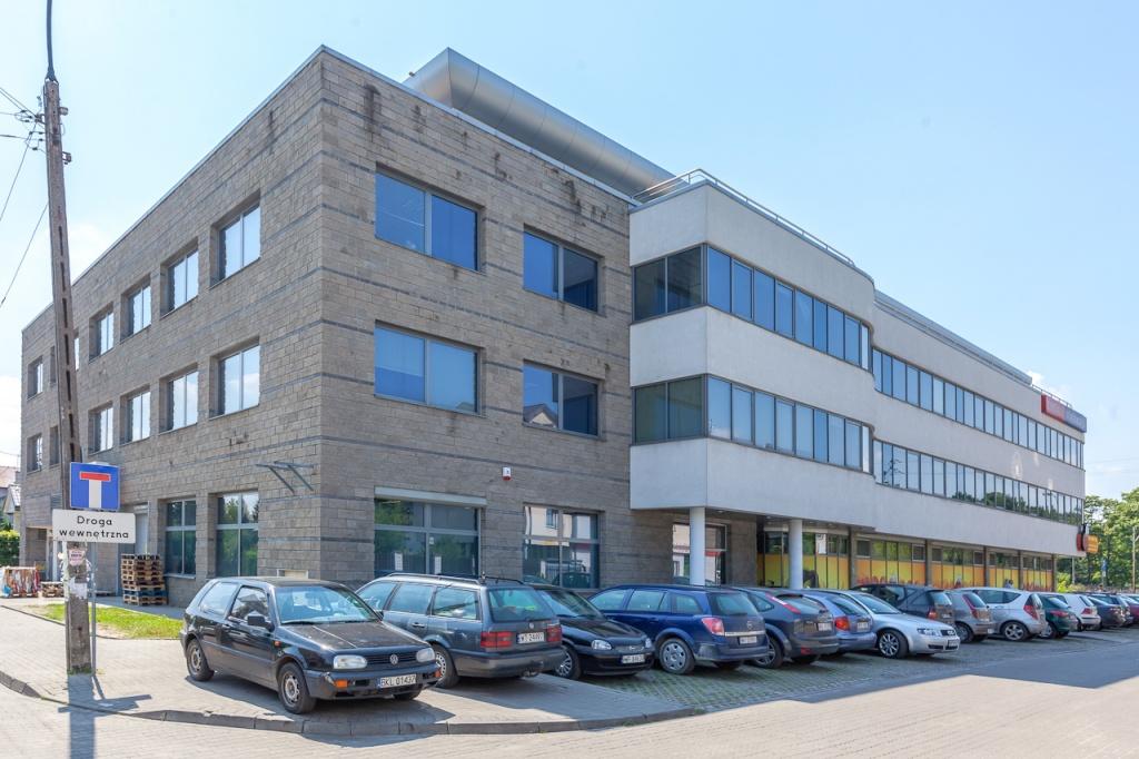 Bryła budynku - biura do wynajęcia
