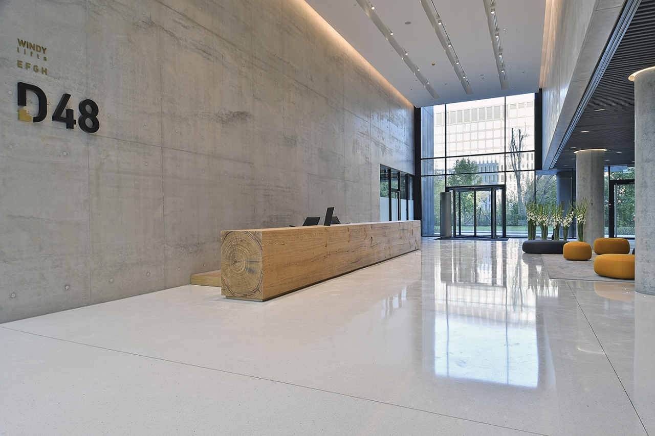 Zdjęcia wnętrza budynku
