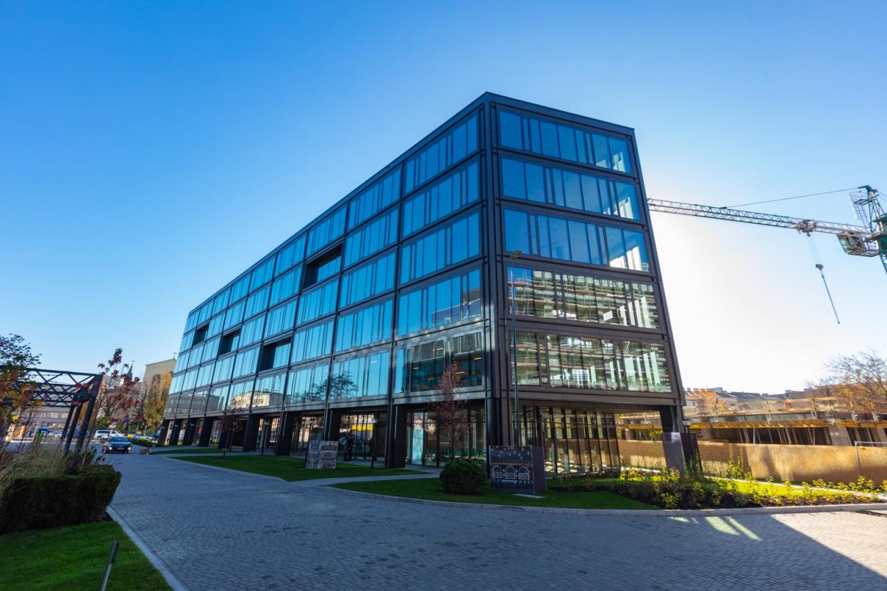 Zdjęcia fasady budynku