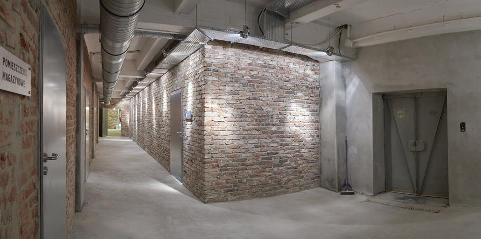 Wnętrza budynków Factory Park