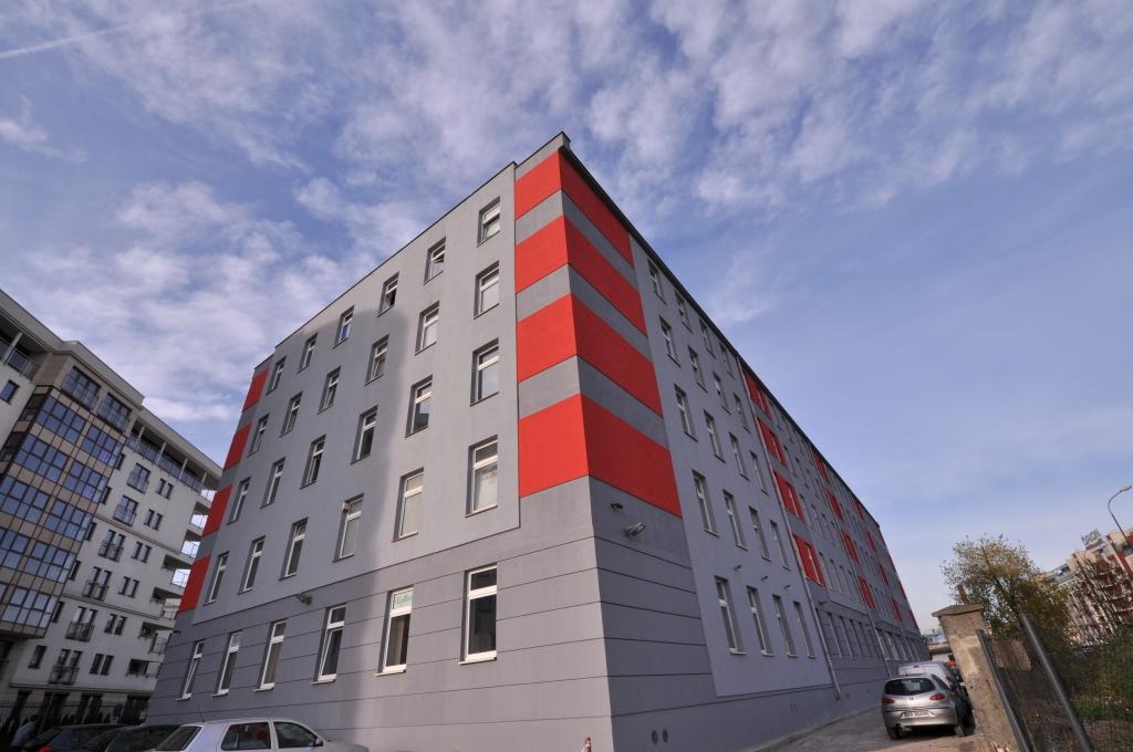 Factory Park Building at Przemysłowa street
