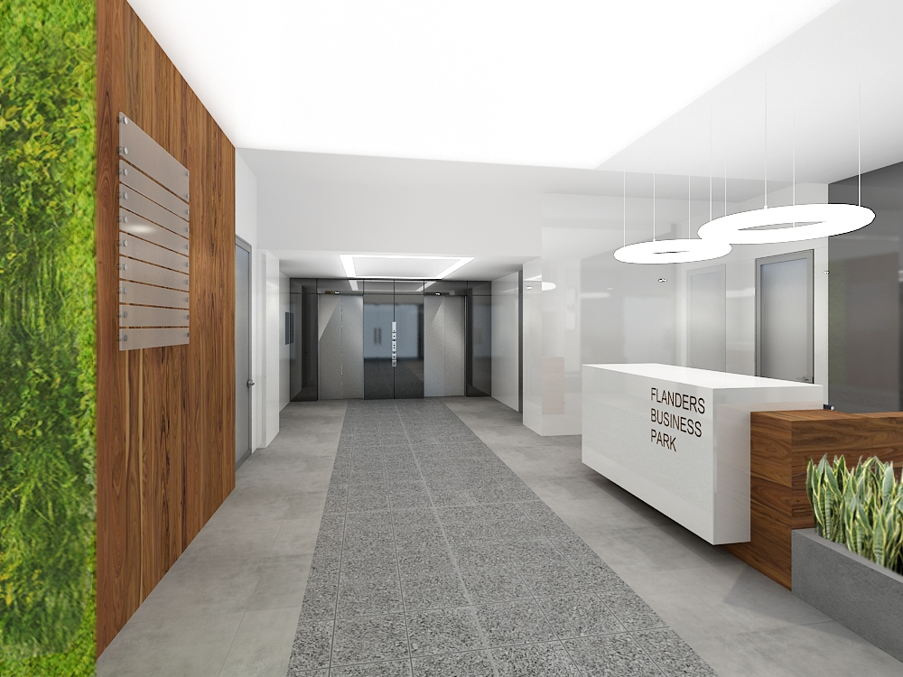 Reception hall - visualisation