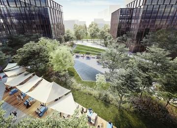 Jak przebiega budowa kampusu biurowego Forest?