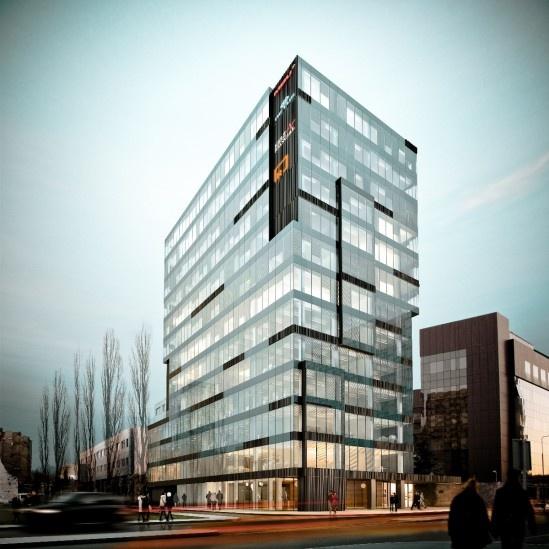 Grzybowska 43 office building