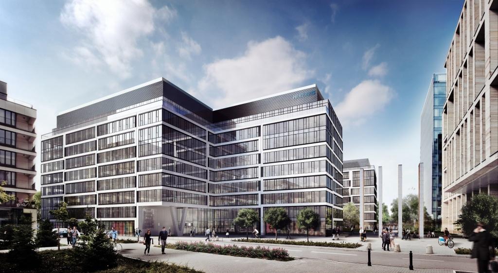 Fasada drugiej fazy inwestycji Gdański Business Center