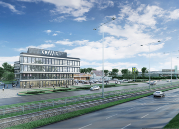 W Gdańsku powstanie biurowiec Gravis