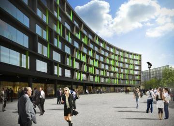 Łódź: Skanska rozpoczyna budowę drugiej fazy Green Horizon