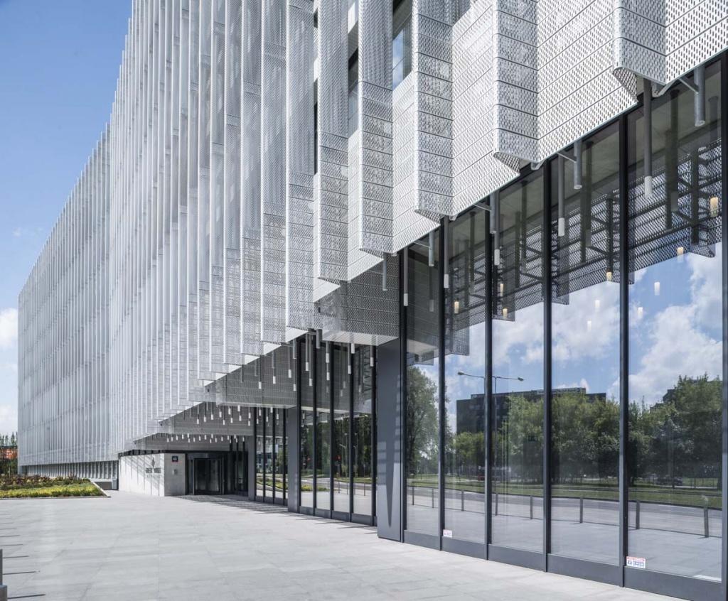 Elewacja budynku biurowgo - detale