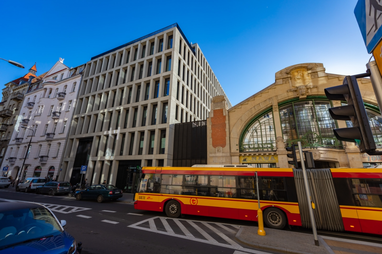 Hala Koszyki budynek A
