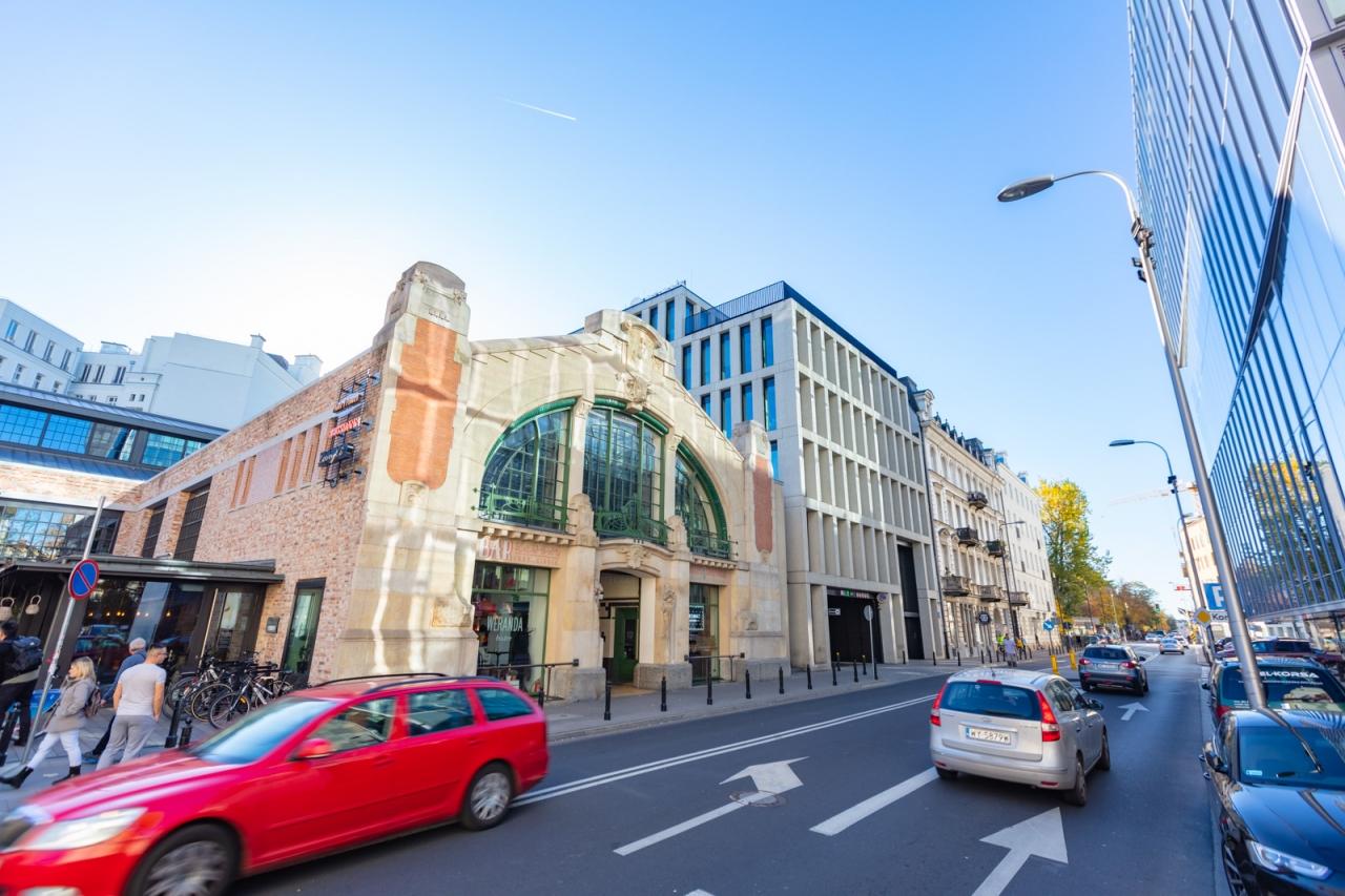 Hala Koszyki budynek C