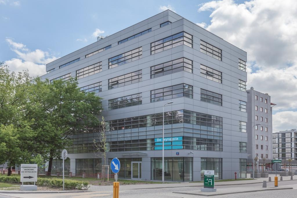Building with offices to let