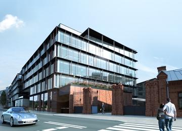 Centrum Praskie Koneser - rozpoczęcie budowy w 2015r.