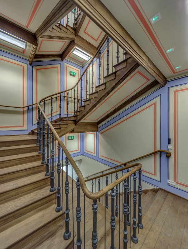 Office building - renovated original staircase