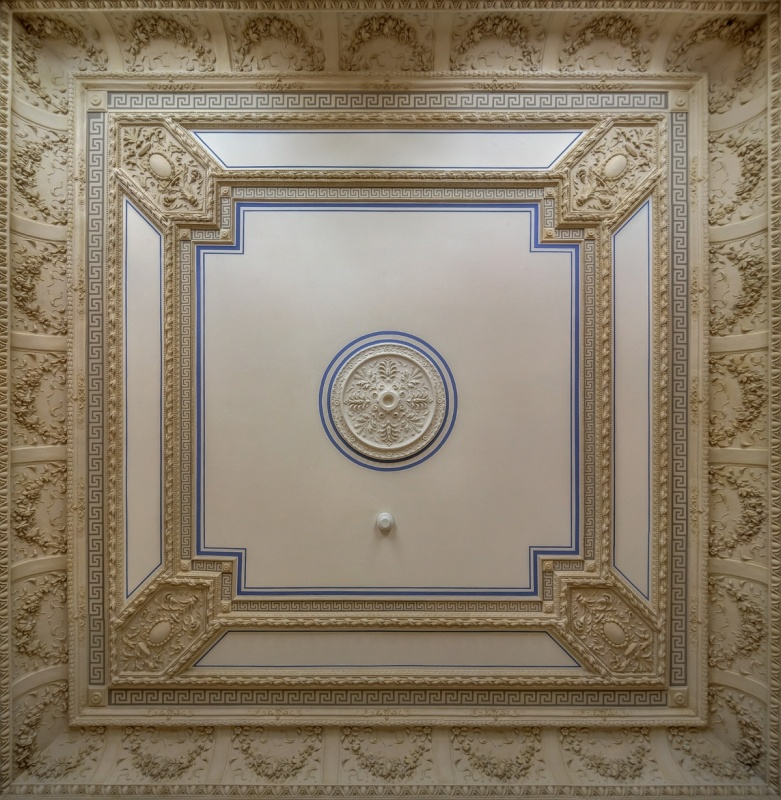Office building -  historic ceiling decoration