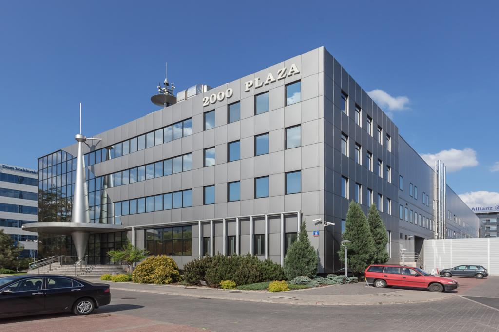 Budynek biurowy oferujący powierzchnię do wynajęcia