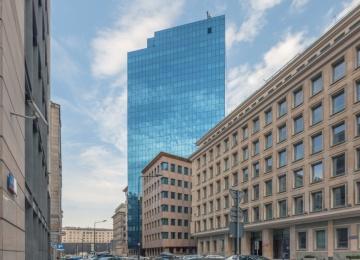 Biurowiec Moniuszki Tower z certyfikatem BREEAM