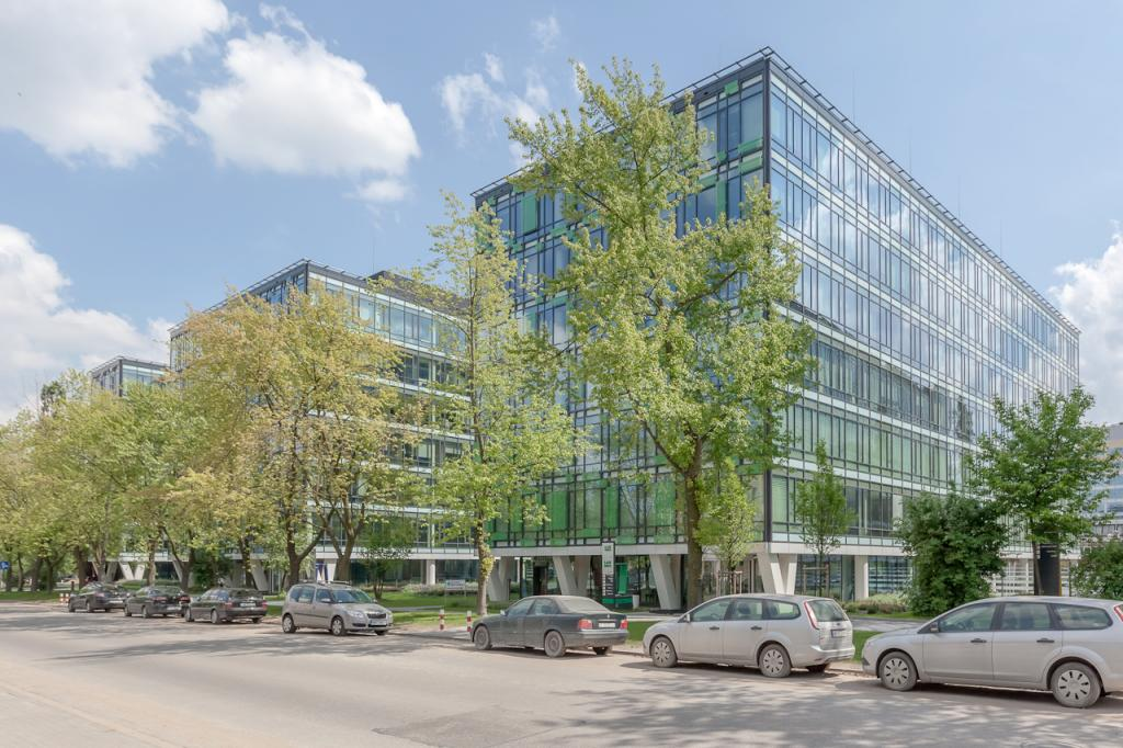 Building with office space to let