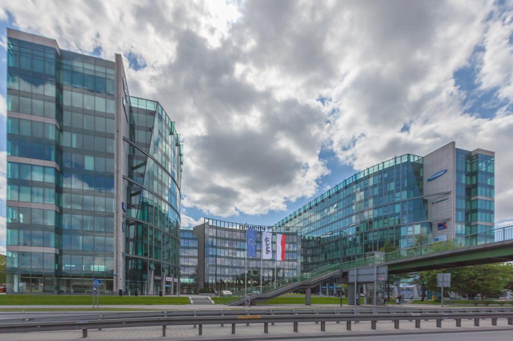Elewacja budynku biurowego