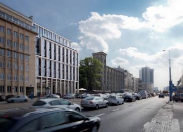 Nowogrodzka Square z pozwoleniem na budowę