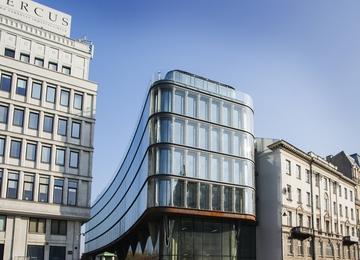 Trwa rozbudowa Centrum Bankowo-Finansowego