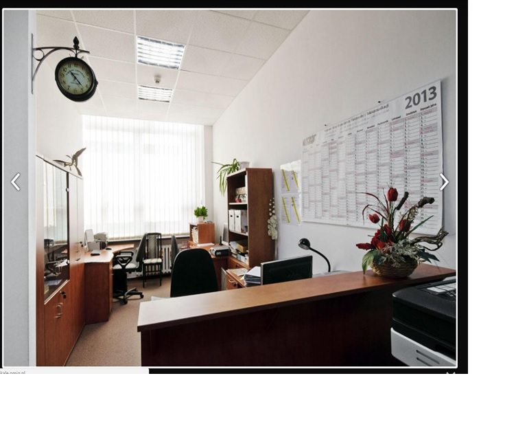Office interior inside the building