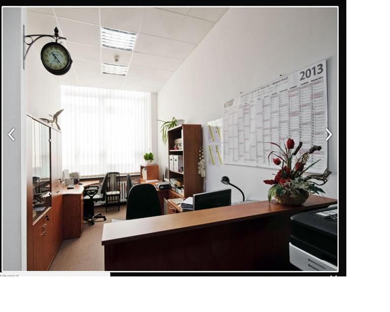 Wnętrze biurowe w budynku