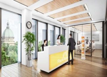 Nowy biurowiec na Wspólnej