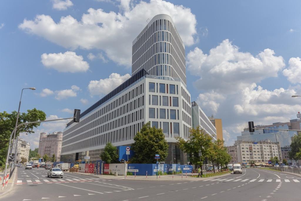Budynek biurowy, widok od ulicy Boya-Żeleńskiego
