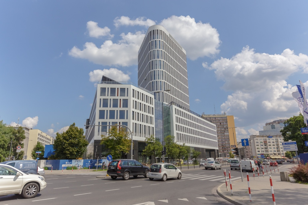 Office building, Waryńskiego Street view