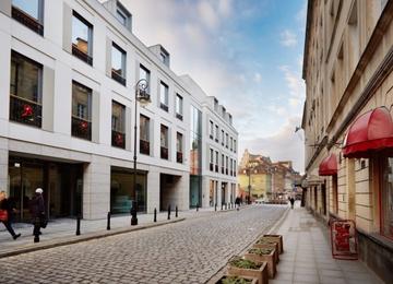 Prace wykończeniowe w biurowcu Plac Zamkowy – Business with Heritage