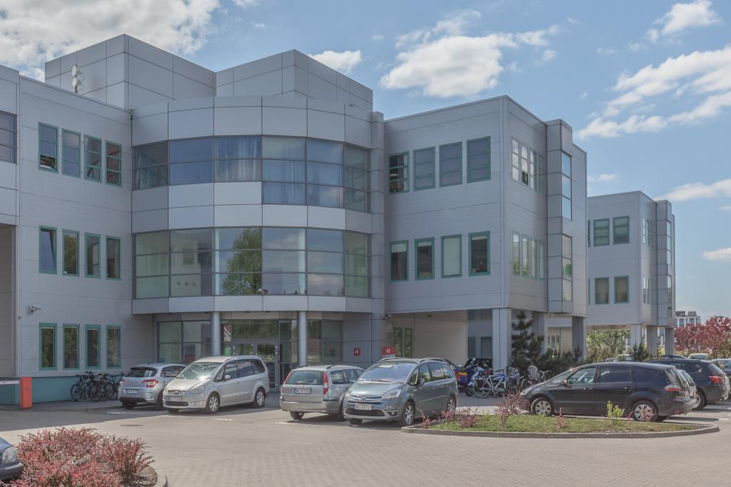Building with office space - outside view