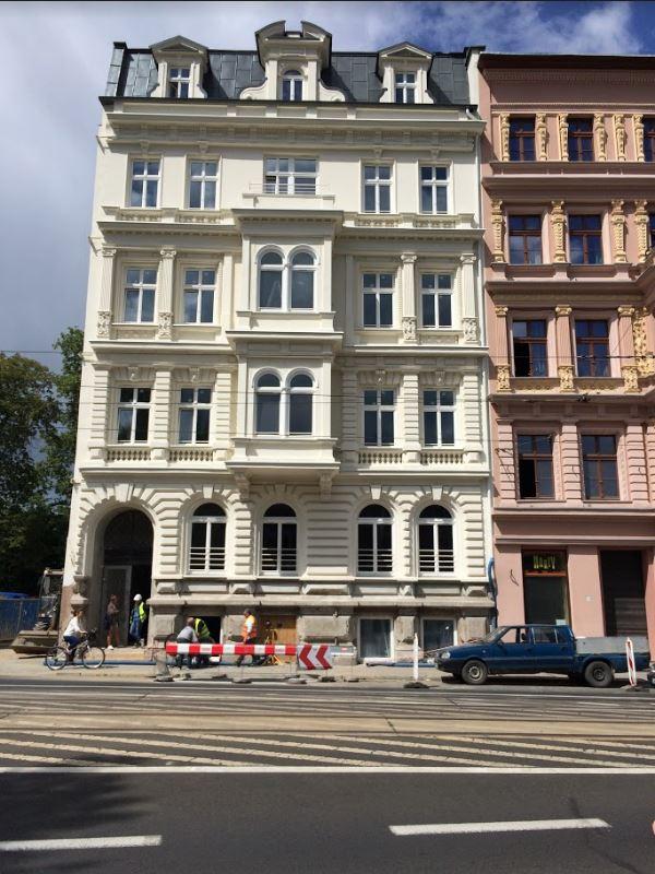 Fasada kamienicy Podwale 7