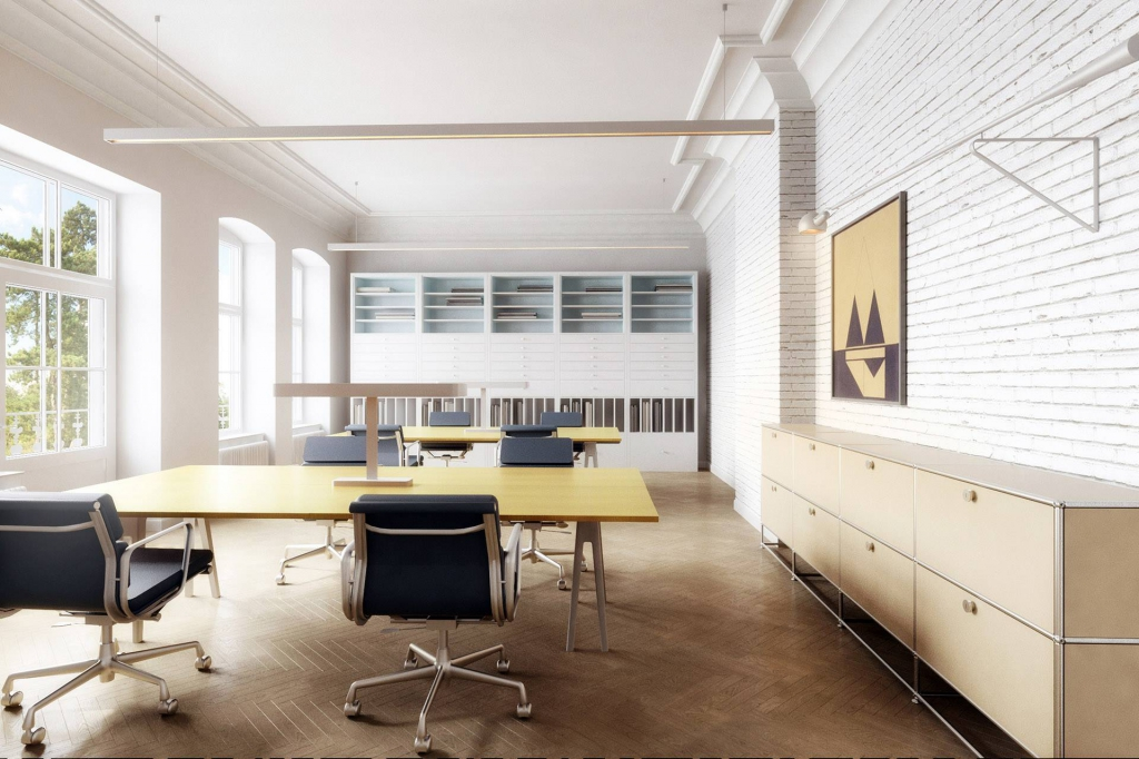 Wizualizacja biura