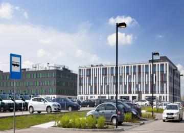 Poleczki Business Park posiada własną stację Veturilo
