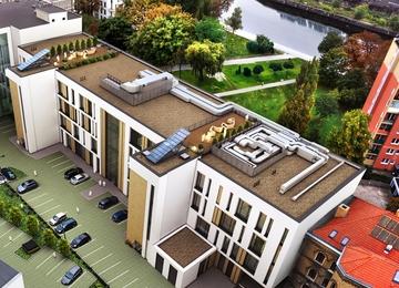 Trwa budowa Pomerania Office Park