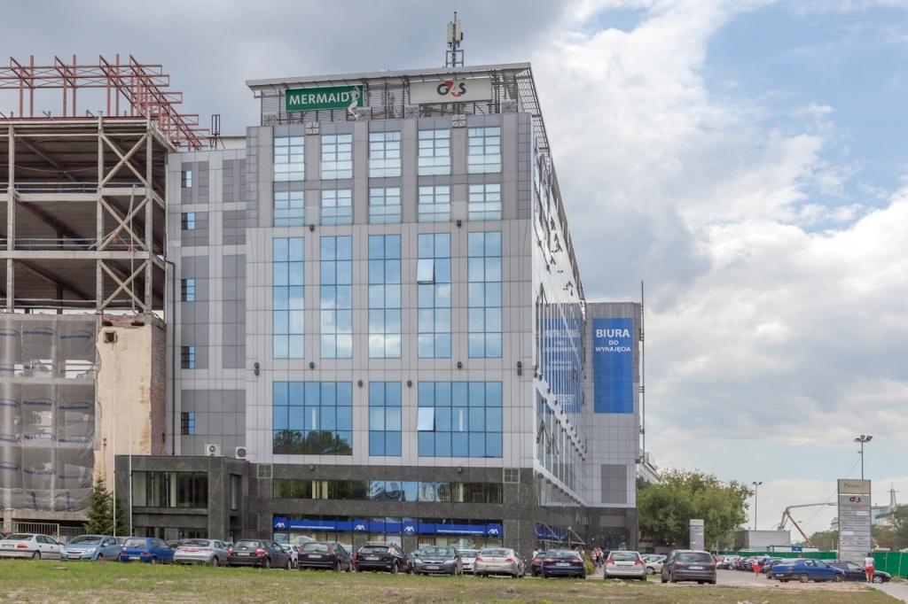 Fasada biurowca - wynajem biur