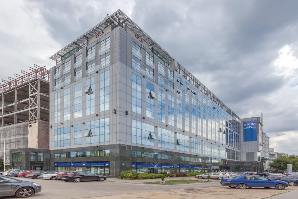 Widok główny budynku biurowego