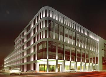 Budowa Retro Office House wyprzedza harmonogram